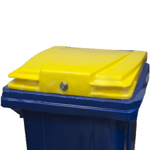 замок для мусорного контейнера