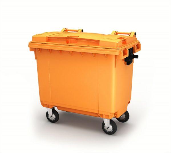 Контейнер для мусора 660 литров