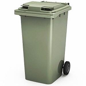 мусорный контейнер с крышкой 240 литров