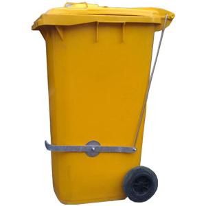 педальный привод для мусорных контейнеров