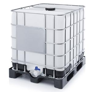 ёмкость кубическая на пластиковом поддоне, еврокуб