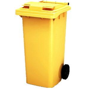 мусорный контейнер с крышкой 120 литров