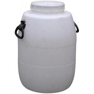 Бочка-бидон п/э 51 литр белый (D192)