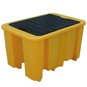 Поддон-контейнер для одной двухсотлитровой бочки