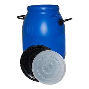 Бочка 50 литров с крышками