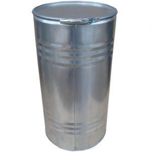 Барабан оцинкованный со съёмным верхним дном 90 литров