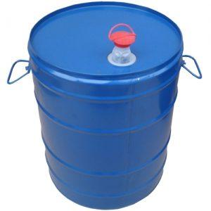 Бочка-бачёк с пластиковой крышкой 50 литров