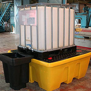 Поддон-контейнер для IBC кубов