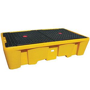 Поддон-контейнер для двух IBC кубов с решеткой