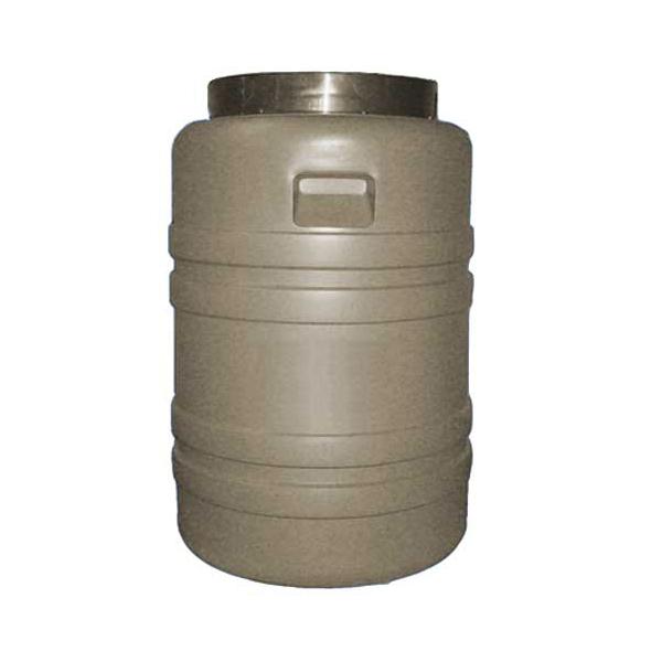 Бочка полиэтиленовая с резьбовой крышкой для жидких и сыпучих технических продуктов 60 л.