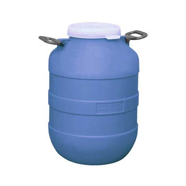 Бочка полиэтиленовая 50 литров, типа А, с резьбовой крышкой для пищевых продуктов