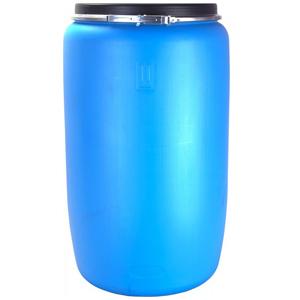Бочка п/э 227 литра с крышкой на обруч Open Top