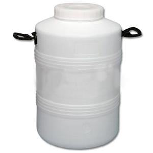 Пластиковый бидон пищевой с резьбовой крышкой 50 литров