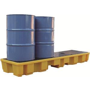 Поддон-контейнер, рядный на четыре бочки для ЛРТЖ