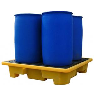Штабелируемый поддон-контейнер объемом 250 литров на четыре бочки для ЛРТЖ