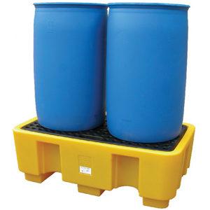 Поддон-контейнер, ёмкость на две бочки для ЛРТЖ