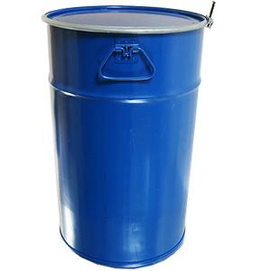 Барабан закатной со съемной крышкой и обручем 55 литров