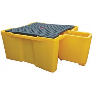 Поддон-контейнер для IBC куба, c решеткой и диспенсером