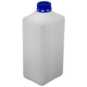 Бутылка прямоугольная неокрашенная 32мм 1 литр БП 1
