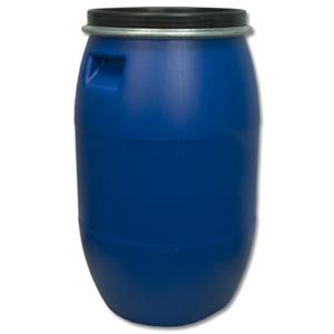 Бочка п/э 127 литров, с крышкой на обруч Open Top