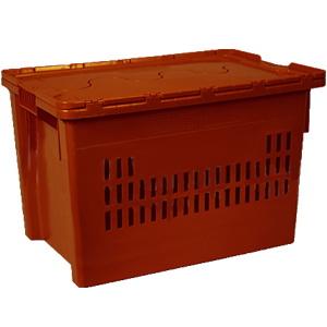 Ящик универсальный с крышкой 600 x 400 x 400