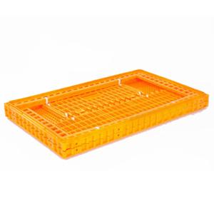 Пластиковый ящик без крышки для перевозки живой птицы 970 x 570 x 270
