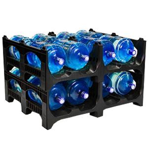 Поддон 1200 x 1000 x 380 для 19 литровых бутылей BOTTLEBACK®
