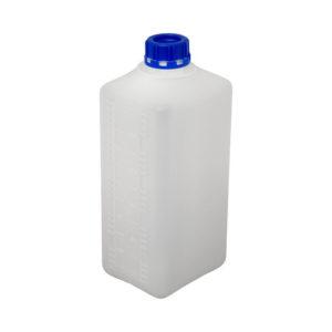 Бутыль пластиковая 1 литр с пробкой (горловина 32 мм)