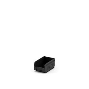 Складской лоток 165x100x75 чёрный