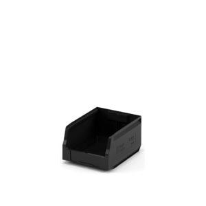 Складской лоток 300x225x150 чёрный