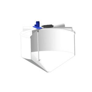 Ёмкость ФМ 3000 литров в обрешетке c пропеллерной мешалкой
